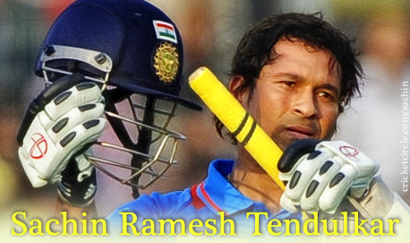Sachin Tendulkar Indian Flag on Helmet